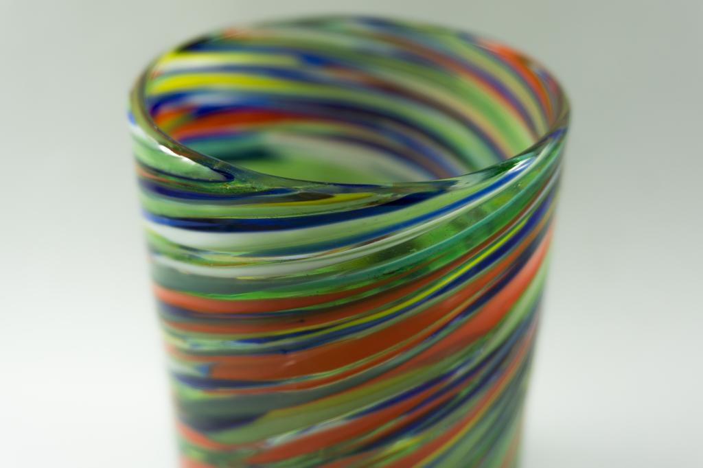 Hand Blown Old Fashion Glass